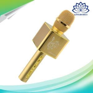 2 in 1 microfono tenuto in mano di karaoke del condensatore di multimedia senza fili di Bluetooth (JY-50)