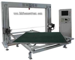 Machine de découpage de oscillation de mousse de lame de commande numérique par ordinateur avec le Tableau de spire