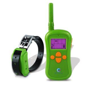Petinccn P680g 660yds Remote collares de adiestramiento de perros sumergible y recargable con cuatro funciones de localización de rango estático de vibración de tono Collar de formador de choque
