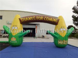 広告のための最も売れ行きの良い耐久の安く膨脹可能なアーチ、トウモロコシのアーチ