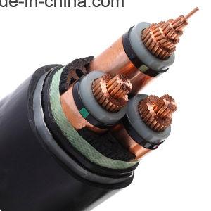 1 a 5 núcleos condutores de cobre 240mm do cabo de alimentação