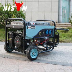 Bison (Chine) BS6500P (M) 5kw prix d'usine 5kVA du fil de cuivre puissant générateur de l'essence 13HP refroidi par air