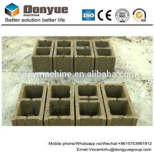 Mini-Manul40-3Qt b a postura de cimento/Processamento de máquina para fazer blocos ocos