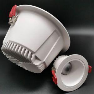 LED étanche Downlight Led antireflet vers le bas plafond DEL feux anti-reflet Light Frame Downlight LED IP65 Downlight 10W 15W 20W 30W 40W Douche Spot encastrable au plafond