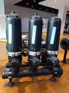 2'' T Автоматический тип диска система фильтрации для орошения выбросов парниковых газов