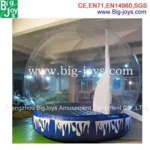 Globo de neve de Natal inflável publicidade (BJ-CH10)