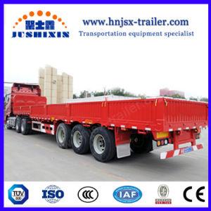 Preiswerte Welle des Preis-3 40 Tonnen Seiten-entfernbare Seitenwand-LKW-halb Schlussteil-für Verkauf