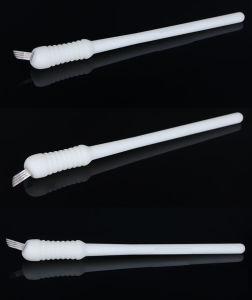 半常置入れ墨の構成によって接続される刃のための新しく使い捨て可能なMicrobladingのツールの眉毛の入れ墨のツール