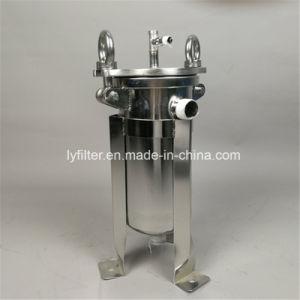 De mini Kleine Huisvesting van de Filter van de Zak van het Roestvrij staal van het Tarief van de Stroom voor de Verwijdering van het Zand/van het Sediment