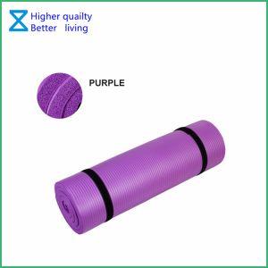 Высокое качество экологически безвредные TPE/NBR/EVA/натуральный резиновый коврик для занятий йогой с помощью настраиваемых размеров