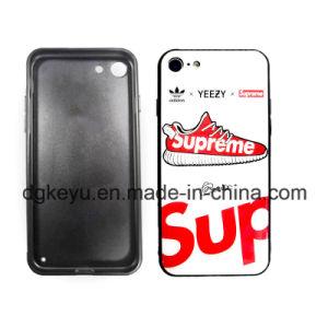 De populaire Opperste Mobiele van de Zak van het Gel van het Kiezelzuur van het Geval van het Glas Antislip Zij Cellulaire/Toebehoren van de Telefoon van de Cel voor iPhone (6/7/8/6s/8s/X Plus/Xs Max/Xr/Xs/8plus)