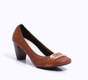 Les femmes au milieu de bloc basse talon dame chaussures confortable bureau Bureau