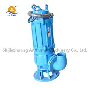 No obstruir la desecación de la bomba sumergible de aguas residuales