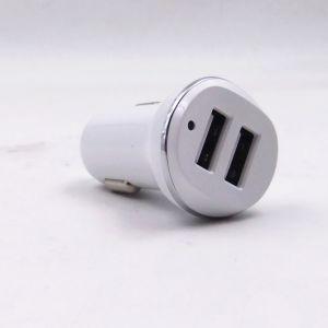 Adattatore doppio dello zoccolo del caricatore del USB del motociclo dell'automobile con l'indicatore luminoso di indicatore del LED