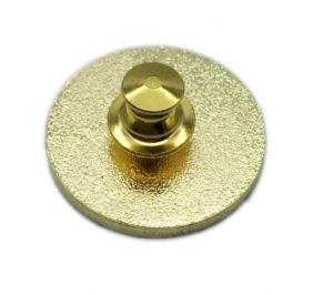 Fördernder Metallform-Goldende-Abzeichen-ReversPin (156)
