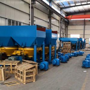 Coltan 농도를 위한 무기물 가공 톱니 파 지그 기계