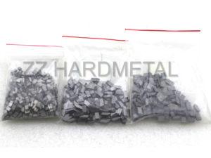 텅스텐 시멘트가 발라진 탄화물 Zzhardmetal에서 고무에 의하여 장식용 목을 박는 타이어 못