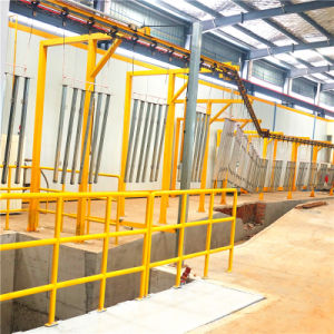 La macchina Chain di granigliatura/continui d'attaccatura Attraverso-Alimenta la macchina ad uncino di pulizia di granigliatura