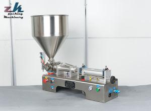 Liquide pneumatique semi-automatique de l'eau bouteille de jus de machine de remplissage