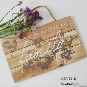 Placa de Parede de madeira Personalizado Eco-Friendly Decoração MDF