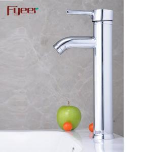 Fyeer冷たいおよび熱湯のための高いアークの洗面器の蛇口