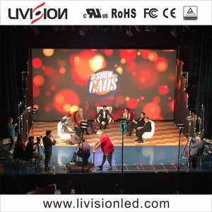 En el interior de alta calidad de vídeo LED paredes de la pantalla de LED RGB / Panel de visualización para la etapa de iluminación discoteca P2.6/P3 (pantalla).