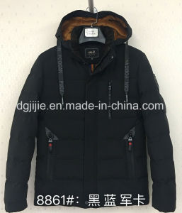8856 & 8861 Invierno moda hombres encapuchados Chaqueta relleno de alta calidad
