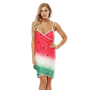 شاطئ ثوب يلبّي [بشور] فوطة لأنّ حارّ فصل صيف لباس حالة