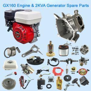 2kVA de alta qualidade GX160 168f de partes separadas do gerador do motor