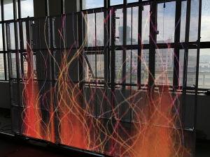 P10 transparent à l'intérieur de la publicité commerciale de l'écran Carte d'affichage à LED