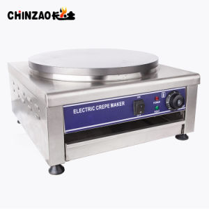 40cm 단 하나 전기 가열판 Crepe 제작자 기계