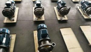 Olio sanitario dell'acqua del latte del macchinario di alimento della pompa centrifuga dell'acciaio inossidabile