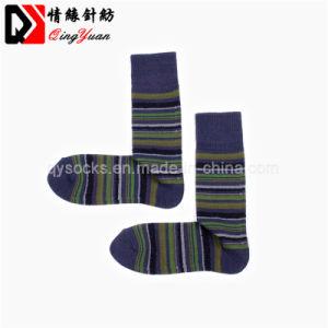 7d2eba43d Algodão tricotado de homens com alto costela Top Multicolor Meias Opcional