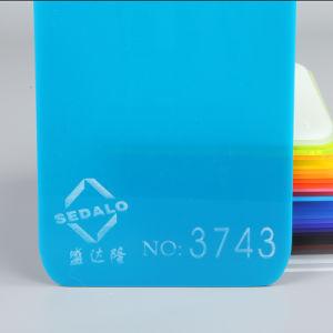 Precio competitivo de acrílico de color Verde hoja 3743