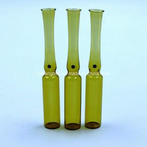 Basse en verre borosilicaté, pour la fabrication de tubes en verre ambré de l'ampoule