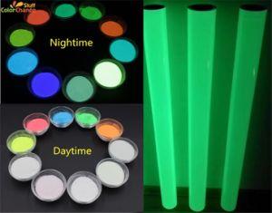 Mucho tiempo brillando en polvo /Pigmentos fosforescentes para película brillante