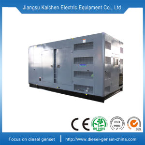 generatore diesel elettrico portatile silenzioso a tre fasi di CA 100kw