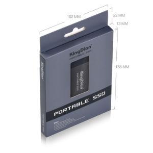 Твердотельный накопитель на жестком диске 120 ГБ портативный SSD