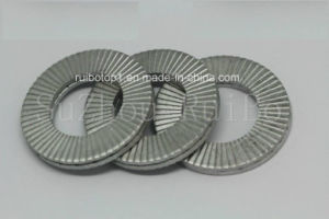Высокой прочности DIN25201 Двойной фальц самофиксирующийся стопорной шайбы