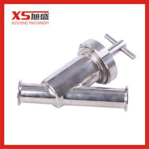 Hygienischer Filter des Edelstahl-Schweißens-Y mit SS304