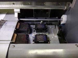 2つのPCS Dx5/Dx7の印字ヘッドが付いている3.2m Eco支払能力があるデジタル・プリンタ