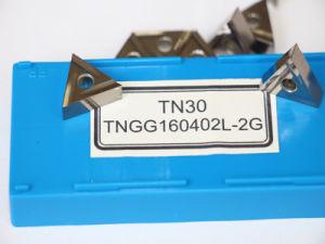 Tn30 Tngg160402L-2g Carbure amovible Insert pour tourneur