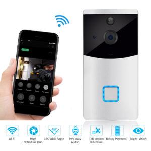 Wire-Free Doorphone vídeo 720p con una excelente visión de noche
