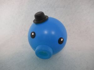 Giocattolo automatico del gatto dell'indicatore luminoso dell'indicatore del laser del polipo blu
