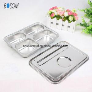Grau 304 Tabuleiro de aço inoxidável Placa pratos