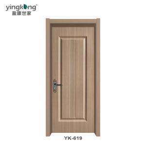 Yk619 Qualidade WPC, porta a porta de PVC/casa de banho em PVC Porta Interior