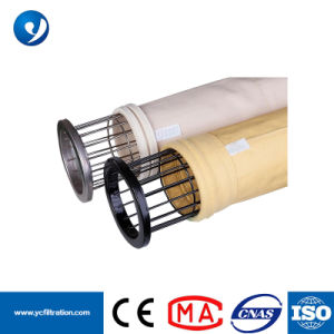 Química de cimento P84 saco de filtro de poeira Media