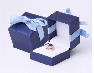Visor de relógio de luxo personalizado jóias de embalagens de papel caixa de oferta (xc-hbj-030A)