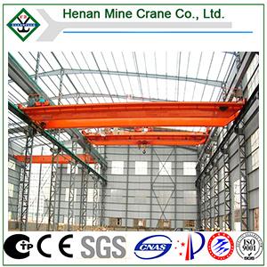 Overhead eléctrico Traveling Double Beam Crane para Workshop con CE; GOST; Certificado de la ISO