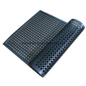 판매에 Hotal를 위한 고품질 배수장치 구멍 고무 매트